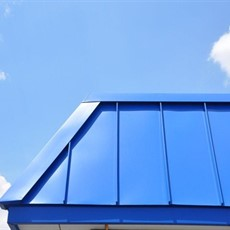 Sheet Metal Standing Seam